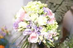 Bouquet lilac and pink