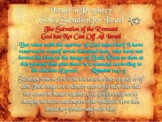 Israel in Prophecy - God has Not Cast Off All Israel