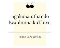 XhosaLoveLetters on Etsy Love Letters, Etsy Seller, Cartas De Amor, Boyfriend Letters