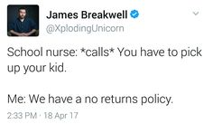 No returns policy