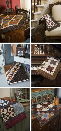 Second Annual Kindred Spirits Quilt Club (Fat Quarter Shop's Jolly Jabber) Quilting Designs, Quilting Ideas, Civil War Quilts, Block Of The Month, Kindred Spirits, Fat Quarter Shop, Sewing Studio, Mini Quilts, Quilt Blocks