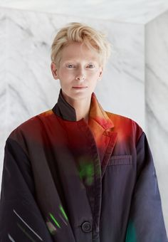 Interview with Tilda Swinton, performing in Luca Guadagnino's Suspiria Tilda Swinton, Masculine Style, Star Wars, Textiles, British Actresses, Dominatrix, Hollywood Actor, Beautiful Actresses, Beautiful Person