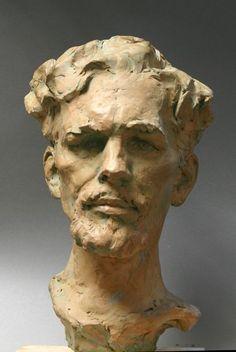 Human Sculpture, Sculpture Head, Pottery Sculpture, Stone Sculpture, Traditional Sculptures, Modelos 3d, Gravure, Face Art, Portrait Art