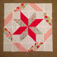 camille roskelley fresh half square triangle - Google Search