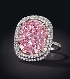Le diamant rose Sweet Josephine de Christie's