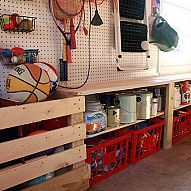 Organized Garage and Workshop Our garage is my retreat. It's where I go to build and create with wood. But, it is a small space and I had to build custom st...