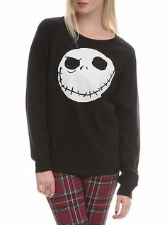 The Nightmare Before Christmas Jack Reversible Pullover | Hot Topic