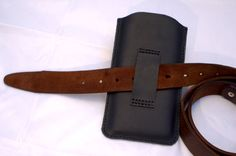 Leather iPhone 6 sleeve iPhone 6 Plus case by KylieLamLeather
