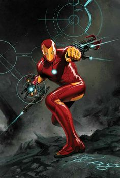 Marvel Comics November 2015 Covers and Solicitations - Comic Vine Iron Man Kunst, Iron Man Art, Arte Dc Comics, Marvel Comics Art, Comic Manga, Comic Art, Comic Book, Marvel Heroes, Marvel Avengers