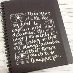 my craft goal for the year. #craft #goals #newyear #calligraphy #calligraphyph #lette... | Use Instagram online! Websta is the Best Instagram Web Viewer!