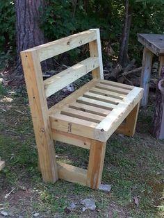4x4 garden bench