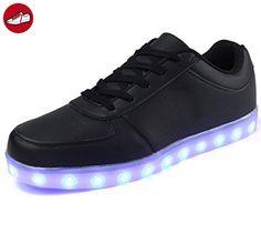 [Present:kleines Handtuch]High Top mit Velcro Rot 41 EU Sport Herren Aufladen LED Unisex-Erwachsene JUNGLEST für Sneaker 7 Damen Farbe Leuchtend Schuhe US cRsIdZ