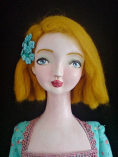 Ooak poseable art doll  Lily by yalipaz on Etsy