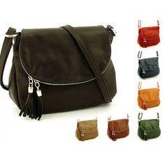 Malá KOŽENÁ dámská kabelka LISTONOŠKA barvy