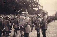 William II in Jelgava during the Great War