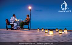 Four Seasons Kuda Huraa Resort Maldives - romantic dinner
