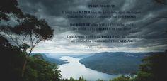 U leidt het water van de bronnen door de beken, tussen de bergen beweegt het zich voort. Het drenkt alles wat leeft in het veld, de wilde ezels lessen er hun dorst. Daarboven wonen de vogels van de hemel, uit het dichte groen klinkt hun gezang. Psalm 104:10-12  #Rust, #Schepping, #Vreugde, #Water  https://www.dagelijksebroodkruimels.nl/psalm-104-10-12/