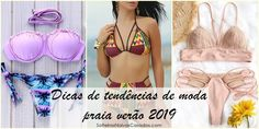 moda praia verão 2019 #verao #moda #modapraia #praia #biquini #tendencias