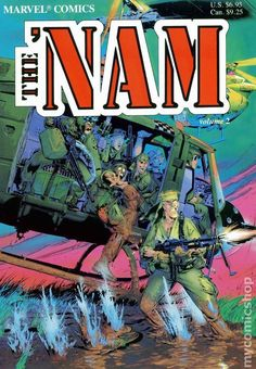 from $6.5 - #Marvel #Comics The 'nam Vol. 2 Trade Paperback (out Of Print) Michael Golden Art