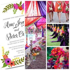 Summer/Spring Purple Fuchsia Floral Wedding by BeholdDesignz. Design Colors can be customized to your bouquet by Behold Designz.