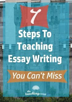Need help teaching essay writing? Essay writing tips for your English class in 7 easy steps! Grab tips and recommendations for essay writing books. Free printables and free essay outline worksheet, too! Join The Teaching Cove by clicking the pin and get g Help Teaching, Teaching Writing, Writing Help, Teaching English, Writing A Book, English Class, Learn English, Teaching Ideas, English Writing