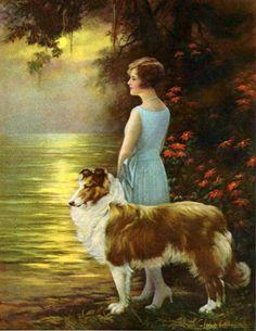 Adelaide Hiebel (1886 – 1968) True Friendship