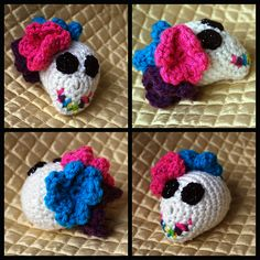 Ravelry: Day of the Dead Skull Pattern pattern by Ayana Reddick