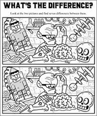Funschool - Halloween - Free Halloween Printables for Kids