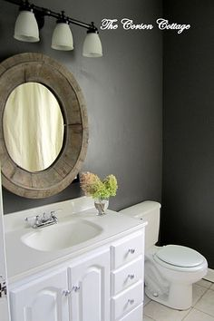 bathroom vanity redo