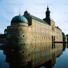 Vadstena Castle, Sweden - it's so beautiful there.