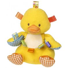 Mary Meyer Taggies 10-inch Dipsy Duck Soft Toy - Overstock™ Shopping - Big Discounts on Mary Meyer Soft & Plush Toys