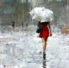 Vintage Chanel series #58, oil - by Andre Kohn