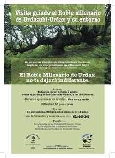 Visita guiada al roble milenario de Urdazubi-Urdax y su entorno #Navarra