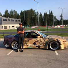 Ryan Tuerck @ Drift All-Stars Estonia in Fail Crew S13