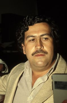 1988 Pablo Escobar at the height of his power. IMAGE: ERIC VANDEVILLE/GAMMA-RAPHO/GETTY IMAGES