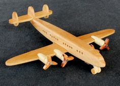 One of many planes in a woodworking plan package