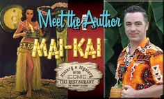 """Book signings and presentations by Tiki """"Swanky"""" Glazner"""