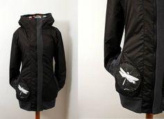 černá bunda Liuc