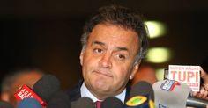 Aécio Neves diz que pediu dinheiro a Marcelo Odebrecht por confundi-lo com Silvio Santos