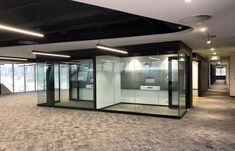 Aluglass Bautech installed approximately 186 running meters of GF Serene Acoustic De-Mountable Partition System with a height of 2,5meters at Accenture - Waterfall Park, Johannesburg - Aluglass Bautech