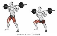 Exercise Database - Barbell Back Squats — Jase Stuart - The Better Body Coach Shoulder Training, Leg Training, Body Weight Training, Bodybuilding Transformation, Body Grow, How To Get Bigger, Leg Day Workouts, Back Squats, Big Legs