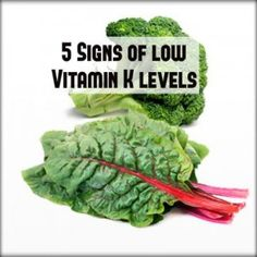 5 Signs of Low Vitamin K Levels - Thehomesteadsurvival Health And Nutrition, Health And Wellness, Health Tips, Health Care, Herbal Remedies, Home Remedies, Natural Remedies, Get Healthy, Healthy Life