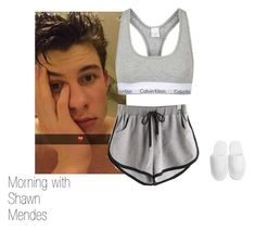 """""""Morning with Shawn Mendes ❤ ❤"""" by andreeadeea266 ❤ liked on Polyvore featuring Topshop"""
