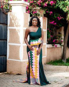 2019 Latest and Beautiful Collections of Ankara Gown Styles Unique Ankara Styles, Kente Styles, Ankara Gown Styles, Ankara Gowns, Kente Dress, African Maxi Dresses, African Attire, African Clothes, African Print Wedding Dress