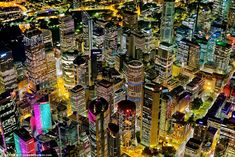A whole new level: amazing photography of Sydney skyline brimming with colours during this years Vivid festival