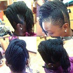 Intricate flat twist updo - Black Hair Information Community Flat Twist Hairstyles, Black Girl Braided Hairstyles, Flat Twist Updo, African Braids Hairstyles, Little Girl Hairstyles, Dreadlock Hairstyles, Twist Braids, Grunge Goth, Grunge Style