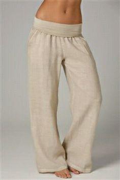 Cute, easy to make yoga pants