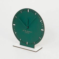 'cardboard clock — green' by Georg schnitzer and peter umgeher, founders of vienna-based design studio vandasye