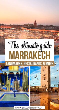 Discover the best things to do in Marrakech in this ultimate travel guide! Gardens, landmarks... everything you need to see in Marrakech is here! Marrakech Morocco | Morocco aesthetic | Marrakech photography | Marrakech travel guide | Marrakech travel photography | Marrakech travel inspiration | Marrakech travel tips | Things to do in Marrakech | Things to do in Morocco | Marrakech bucket lit Marrakech Travel, Marrakech Morocco, Morocco Travel, Ghana Travel, Egypt Travel, Africa Travel, World Travel Guide, Travel Tips, Travel Destinations
