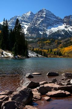 Maroon Bells, Aspen - Colorado.... Been here a couple times! Breathtaking!!